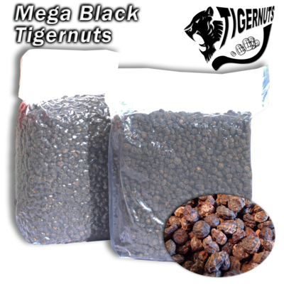 Tigrismogyoró Zsugorfóliás Fekete XXL - 5kg (14-24mm)