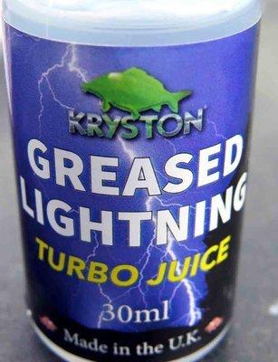 Kryston GREASED LIGHTNING Mono Casting Booster - Monofil zsinór síkosító - 30ml
