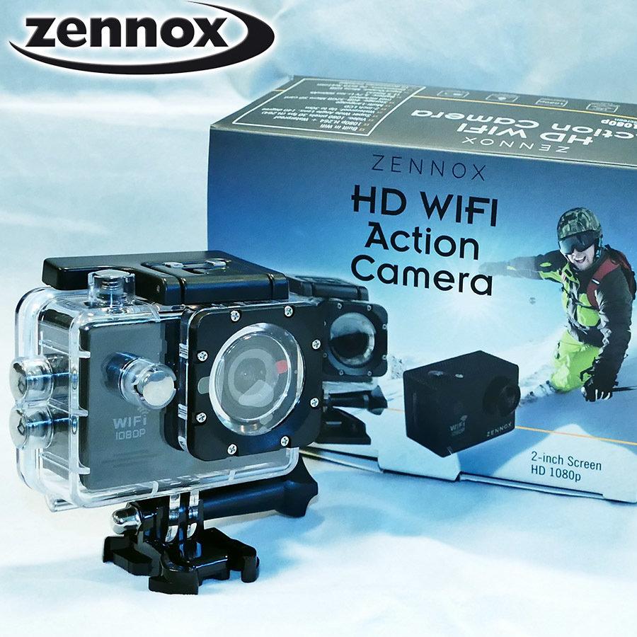 ZENNOX HD Wifi Action Camera 1080p
