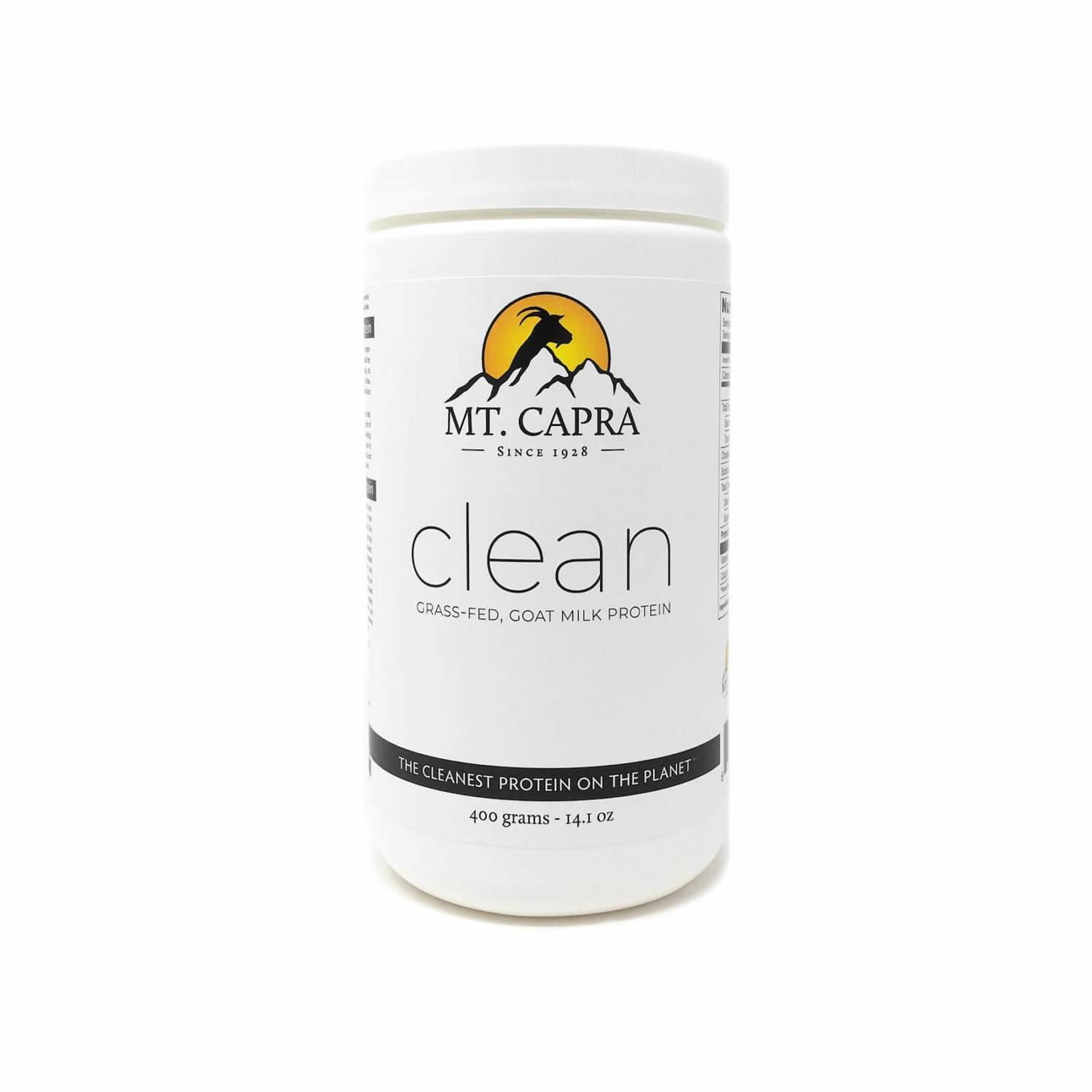 Mt. Capra Clean Grass Fed Goat Milk Protein