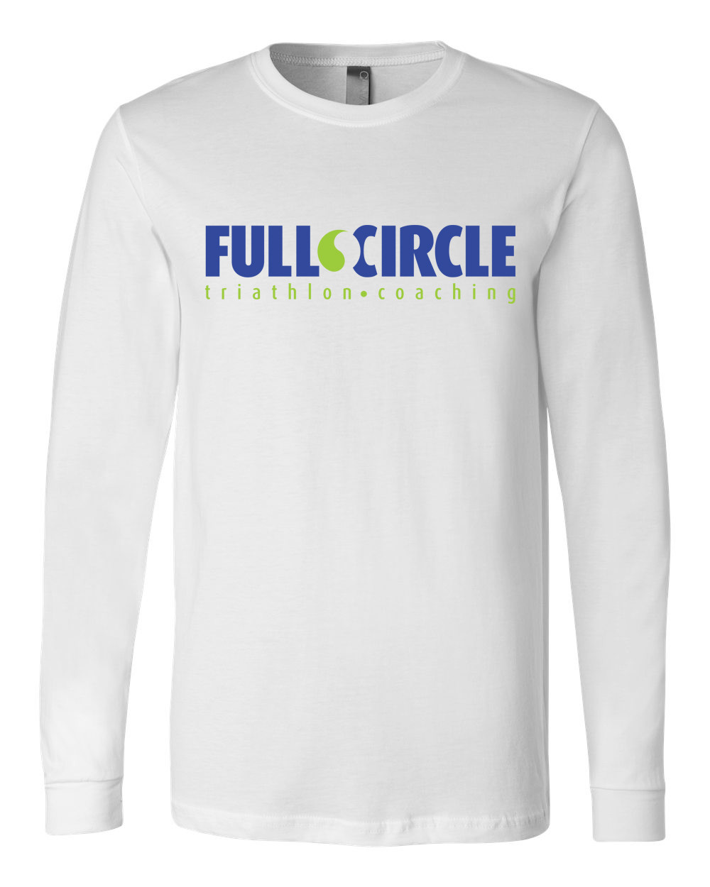 Men's Long Sleeve WHITE Tee