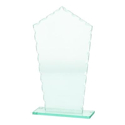 מגן זכוכית מחומש רוחב 13 גובה 25 ס