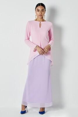 Bella Blush Pink Kurung