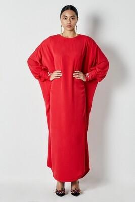 Hellwa Kaftan Ruby Red