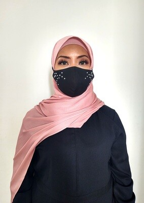 Yanara Face Mask Black