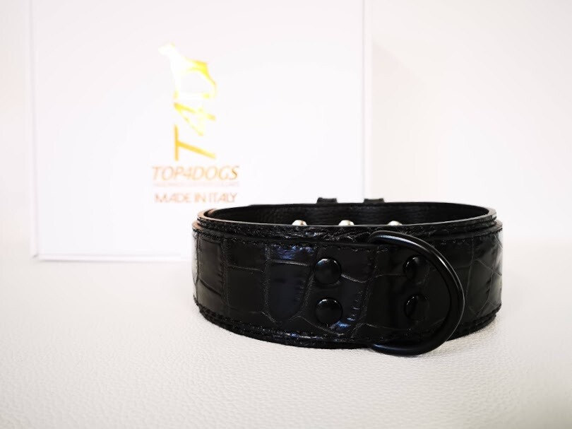 Mod. Croc Black height 1,97 inches/ 5 cm