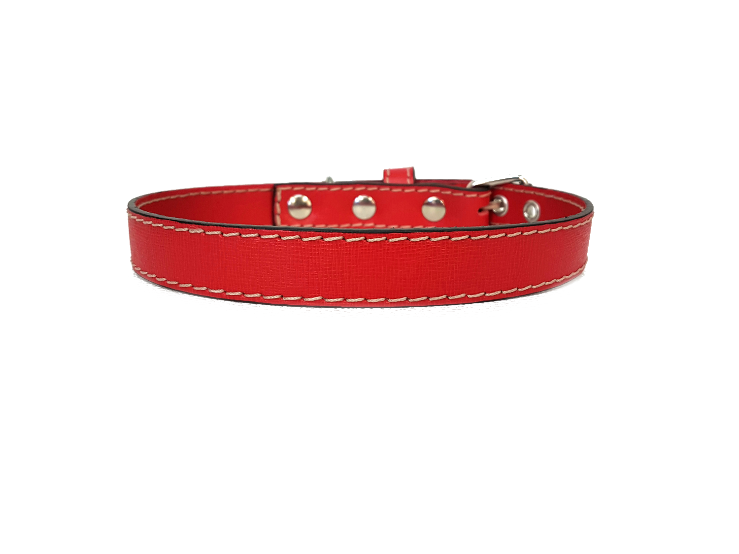 Rosso laserato / Lasered red (2 cm / 0,79 inches)