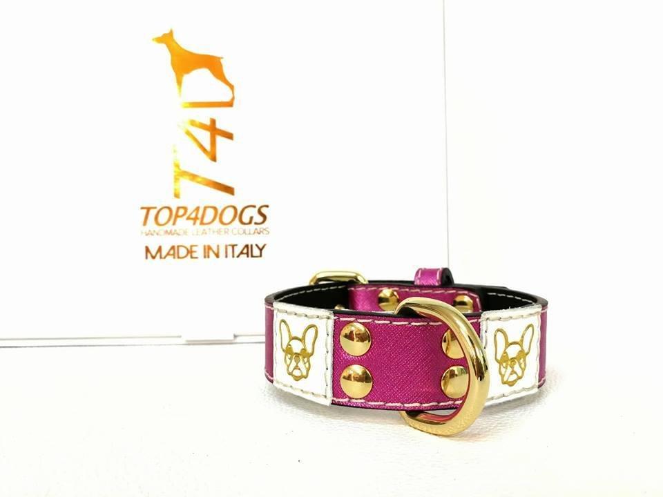 Mod. French bulldog pink h: 3cm
