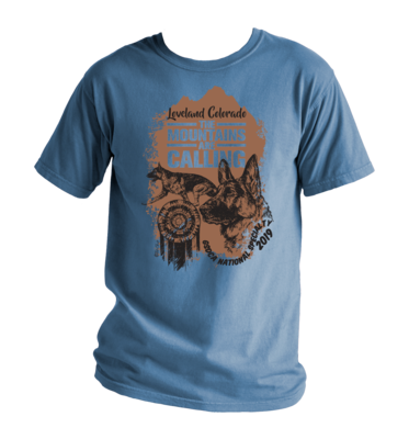 2019 German Shepherd National Specialty T-Shirt