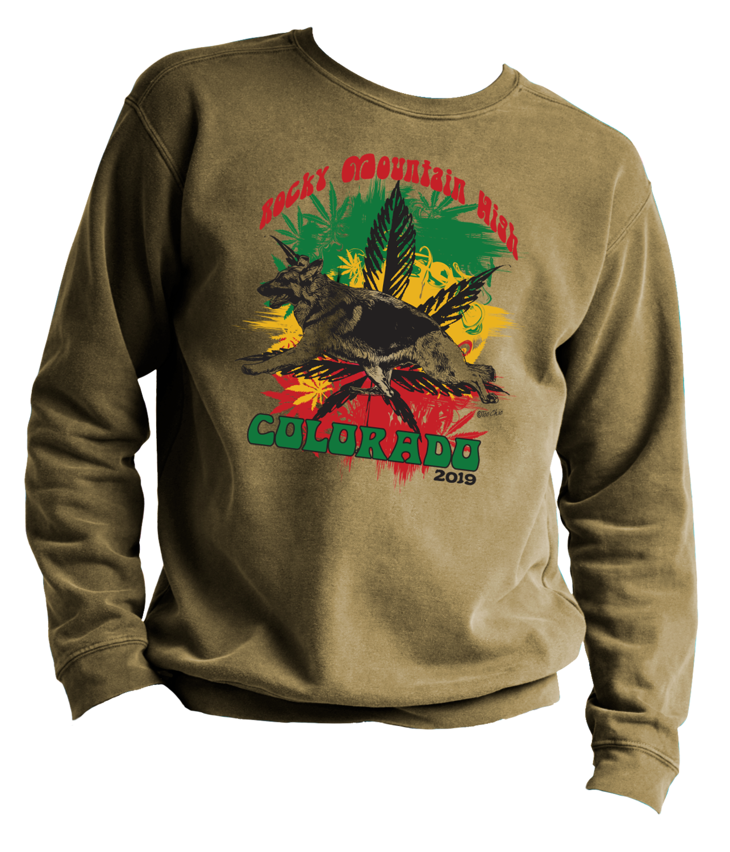 2019 GSD Rocky Mountain High Crewneck Sweatshirt