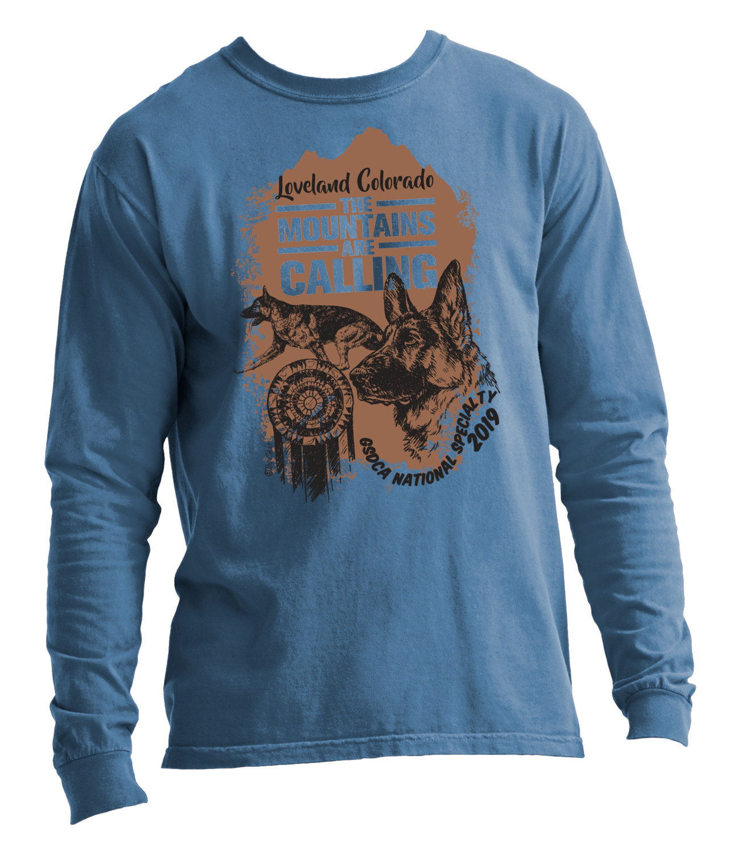 2019 German Shepherd National Specialty Long Sleeve T-Shirt
