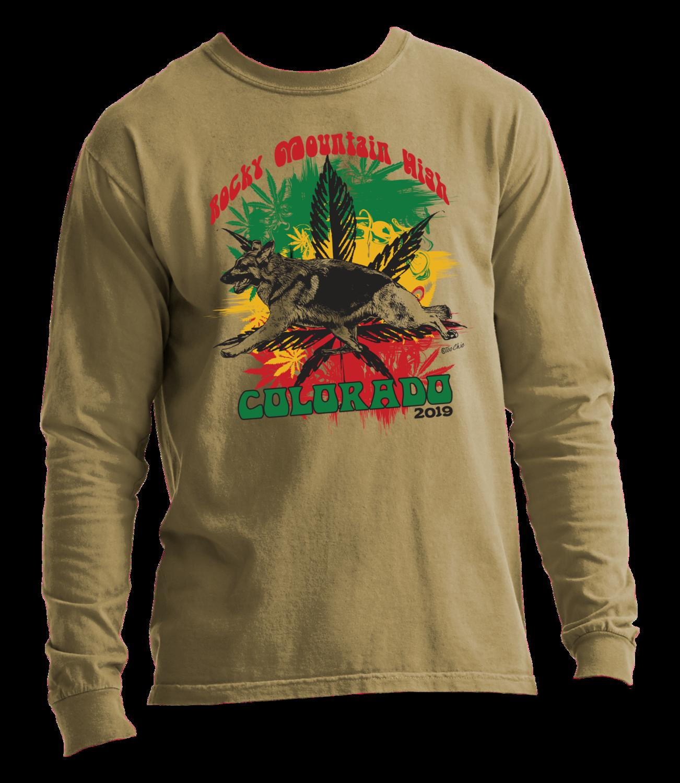 2019 GSD Rocky Mountain High Long Sleeve T-Shirt