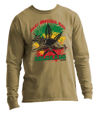 2019 GSD Rocky Mountain High Long Sleeve T-Shirt