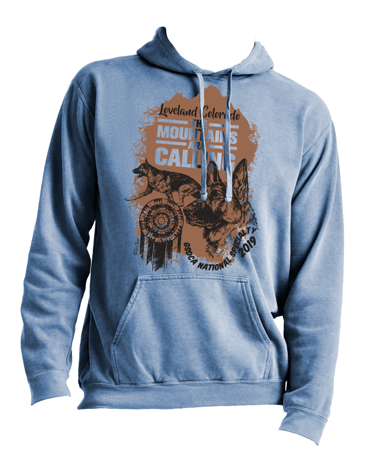 2017 German Shepherd National Specialty Hoodie