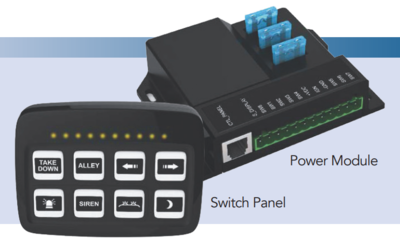 SoundOff 8-Button Switch with Remote Power Module