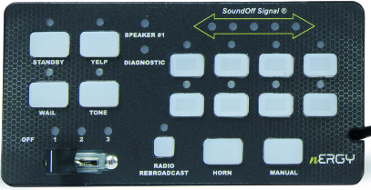 SoundOff Replacement Control Panel for 400 Series