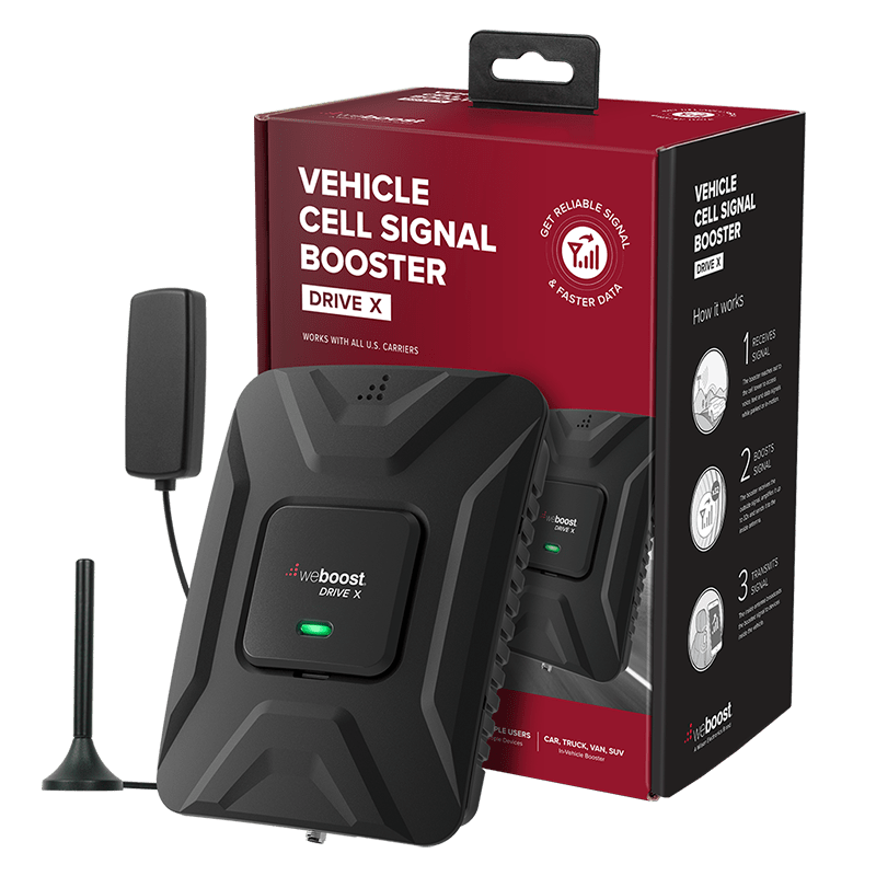 weBoost Drive X Vehicular Multi-User Cellular Signal Booster Kit