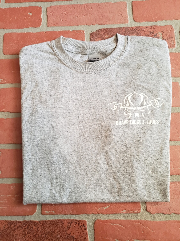 """ROCK IT PROUD"" Grave Digger t-shirts"