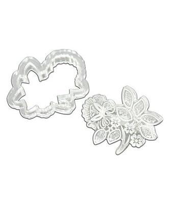 Floral Applique Acrylic Cutter