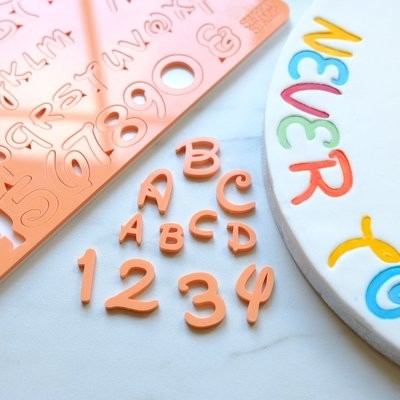 Sweet Stamp Magical Set (Uppercase, Lowercase, Numbers, and Symbols)