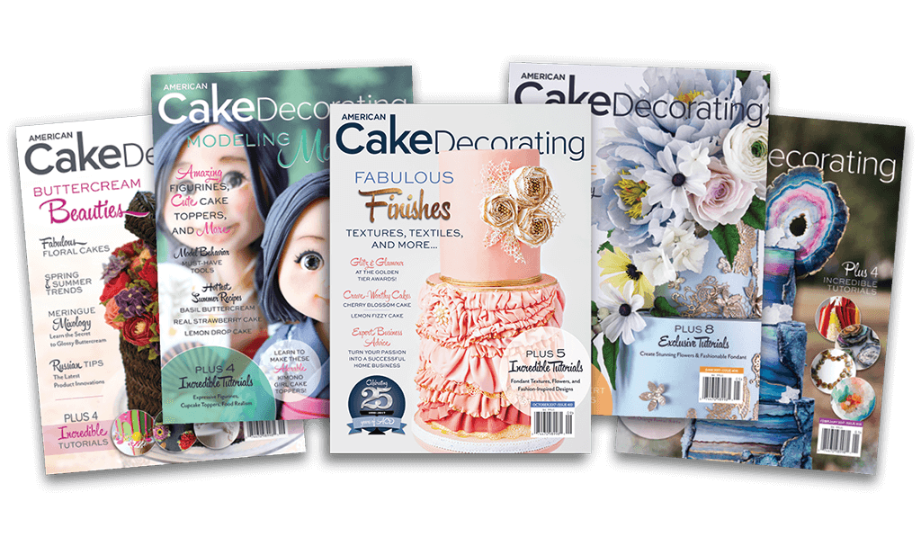 NEW ISSUE March / April 2020 Available Now! American Cake Decorating Magazine