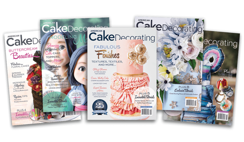 American Cake Decorating Magazine (Multiple Issues Available)