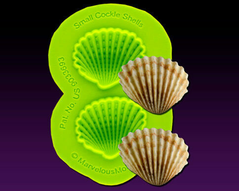 Marvelous Molds Small Cockle Shells