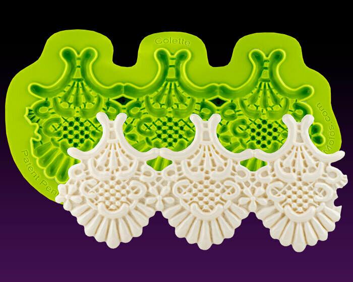 Marvelous Molds Colette Lace Mold