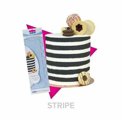 PME Stripes Acrylic Scraper