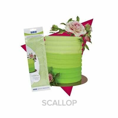 PME Scallop Acrylic Side Scraper