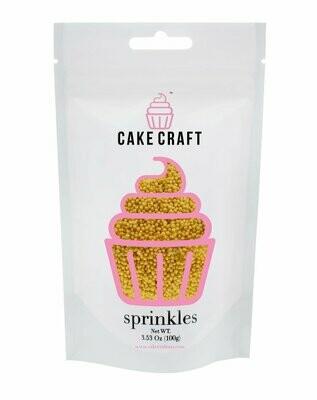 Cake Craft Gold & Silver Nonpareils