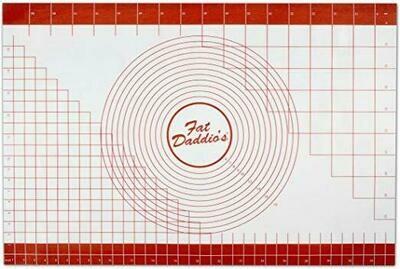 "Fat Daddio's 24""x36"" Silicone Fondant Mat w/ Grid"