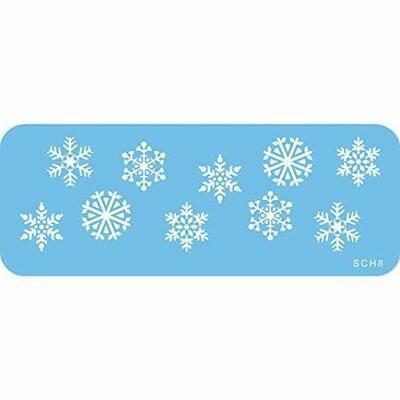 Stencil JEM Snowflakes