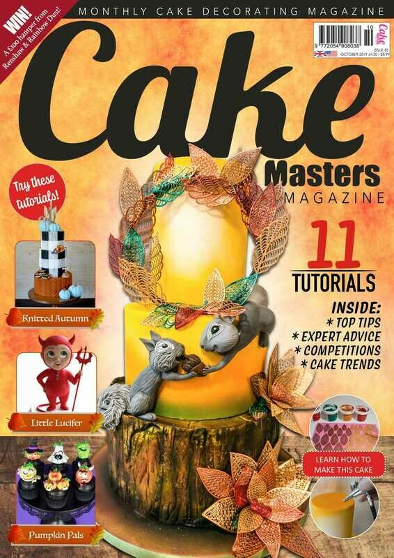 Cake Masters Magazine Oct. '19 Issue 85