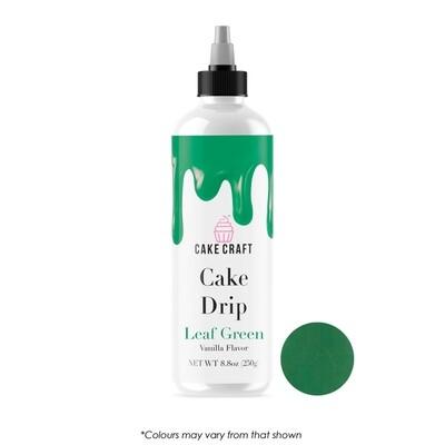 Cake Drip Leaf Green