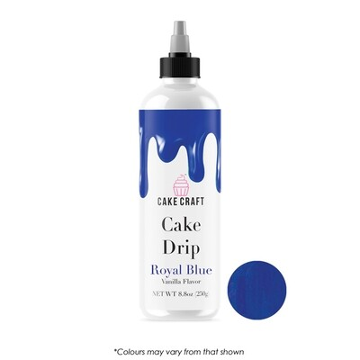 Cake Drip Royal Blue