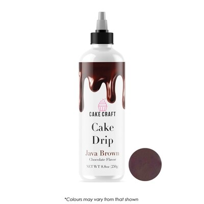 Cake Drip Java Brown