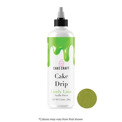 Cake Drip Lively Lime