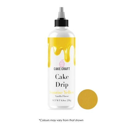 Cake Drip Sunrise Yellow