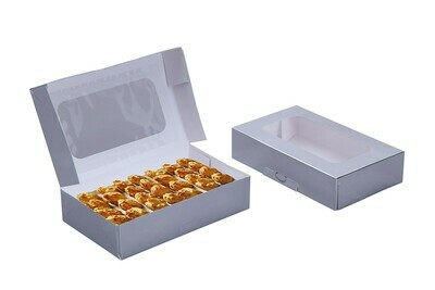 Silver Cookie Box