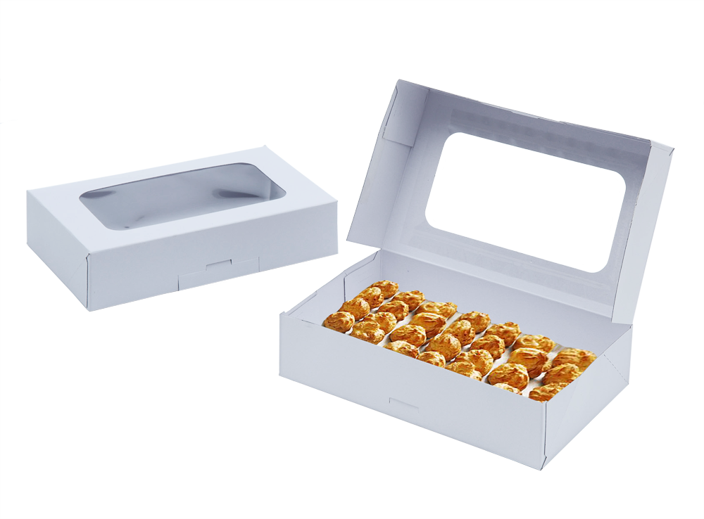 White Cookie Box