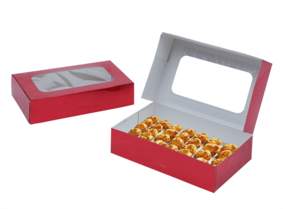 Red Cookie Box