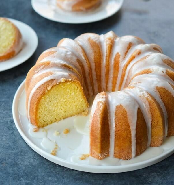 Yellow Vanilla Baking Solutions Cake Mix 2.5 lbs