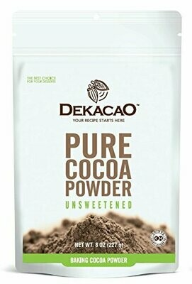 Dekacao Pure Cocoa Powder 8oz