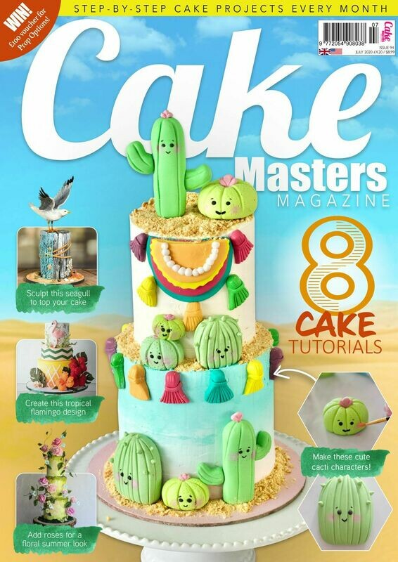 Cake Masters Magazine July Issue 94