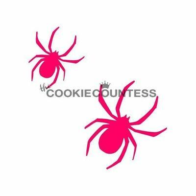 CC Spider 2 sz Stencil