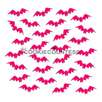 CC Bat BG Stencil