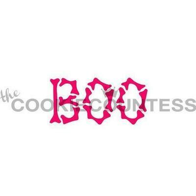 CC Boo Bones Stencil