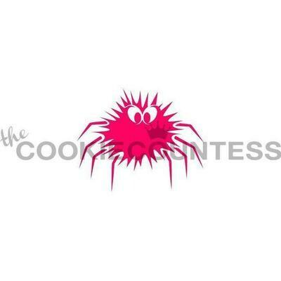 CC Furry Spider Stencil