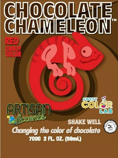 Artisan Accent Chocolate Chameleon Candy Colors now by SweetColorLab.com